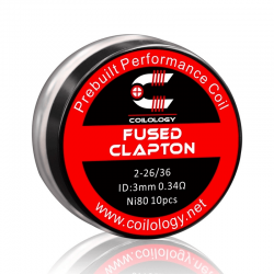 Pack 10 Fused Clapton -...
