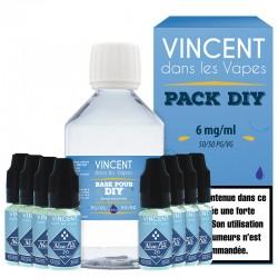 Pack DIY 210ml 6mg - VDLV