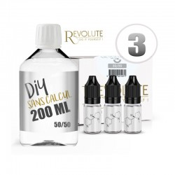 Pack DIY 200ml 3mg Revolute